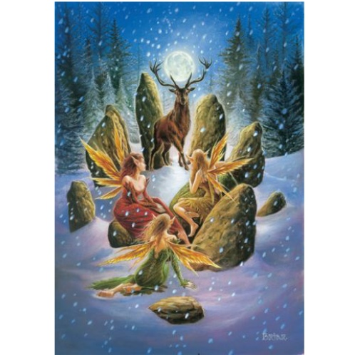 Yule stag card briar yule greetings card pagan greetings card yule stag card m4hsunfo