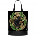Cat and Pentagram Tote Bag NOW8154