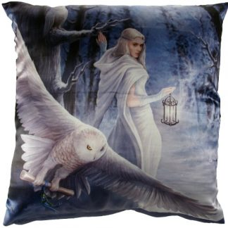 Midnight Messenger Cushion
