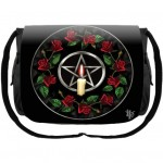 Pentagram Rose Messenger Bag