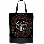 Pentagram Rose Tote Bag NOW8157
