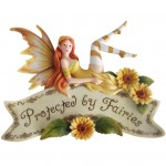 Protected by Fairies Wall Plaque