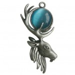 Moon Stag Pendant