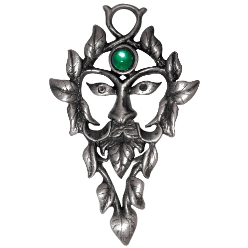 The Green Man Pendant