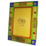 IC-CL-0072-35 5 x 7 inch Celtic Stained Glass Frame