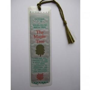 WG19 The Maple Tree Bookmark 1-15 October