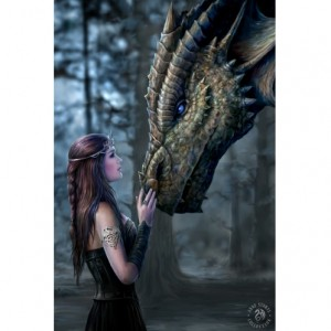 Once upon a Time 3D picture by Anne Stokes.