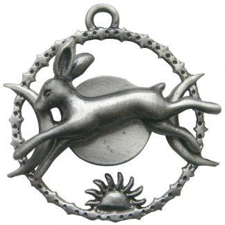 Celestial Hare Pendant