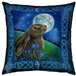 Moon Gazing Hare Cushion