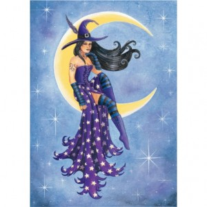 Moon Witch Card