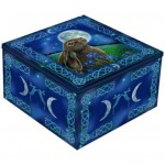 Moon Gazing Hare Mirror Box