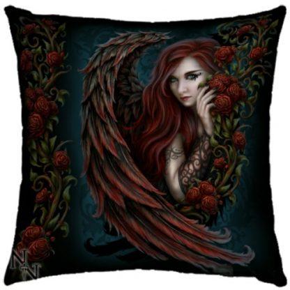 Daemon in Rosa Cushion