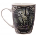 Owl with Quill Mug