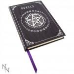 Purple Spell Book Embossed Journal by Luna Lakota