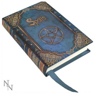 Blue Book of Spells Small Embossed Journal