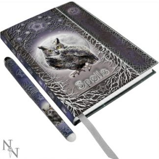 Spells Embossed Journal with Pen