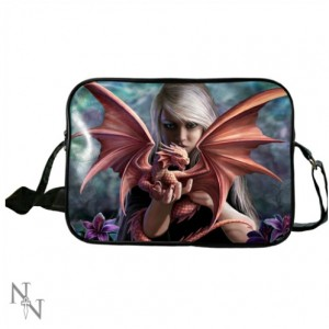 Dragonkin Side Bag by Anne Stokes