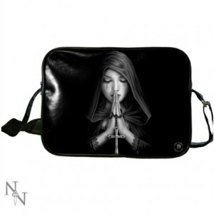 Gothic Prayer Side Bag by Anne Stokes