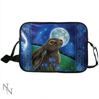 Moon Gazing Hare Side Bag