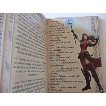 Spellbound Book by Anne Stokes and John Woodward, Enhancement pages