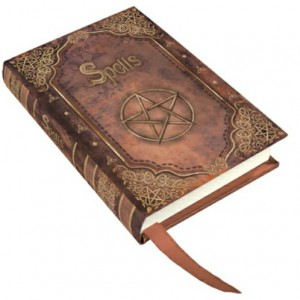 Red Book of Spells Small Embossed Journal