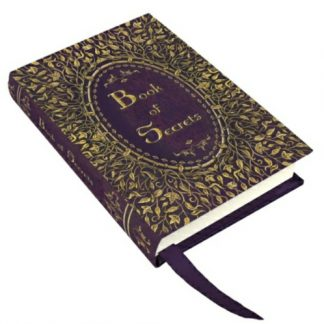 Book of Secrets Small Embossed Journal