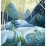 East of the Sun, West of the Moon Card by Amanda Clark - image