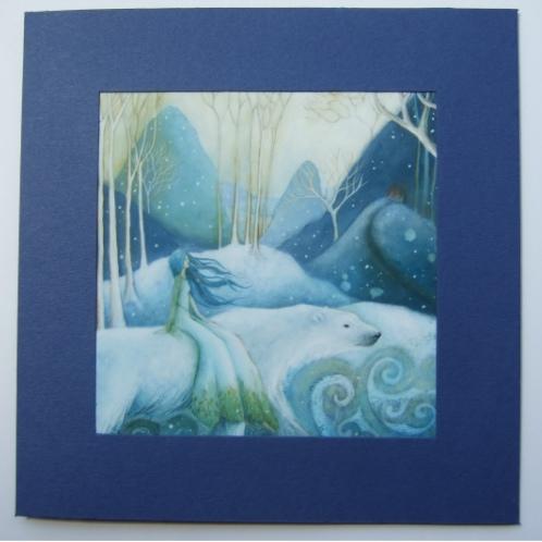 East of the Sun, West of the Moon Card by Amanda Clark