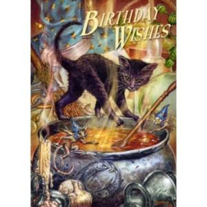 Cauldron Capers Birthday Card by Briar