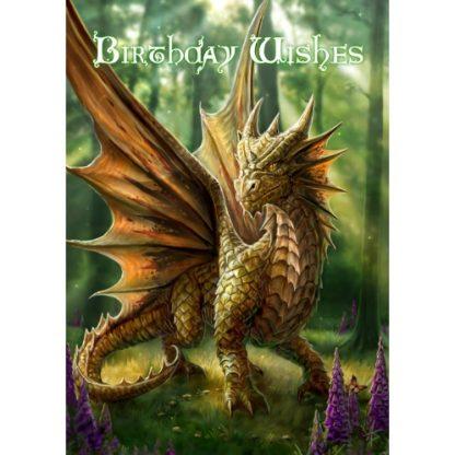 Friendly Dragon Birthday Card