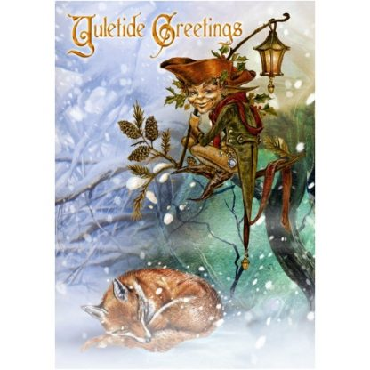 The Holly Jack Yule Card
