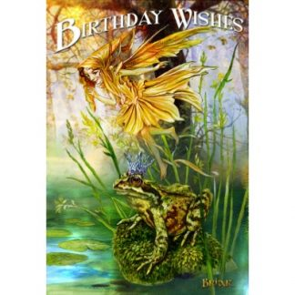 Prince of Ponds Birthday Card