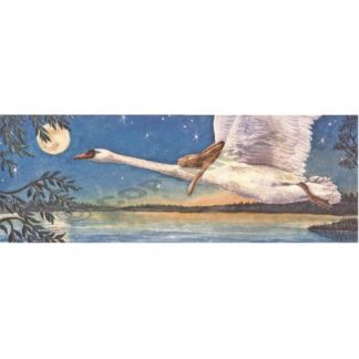 Gently ... Across the Waters and Beyond the Moon Card