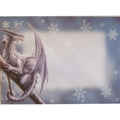 front of the Yule envelope