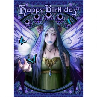 Mystic Aura Birthday Card