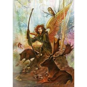 Angel of Earth Card