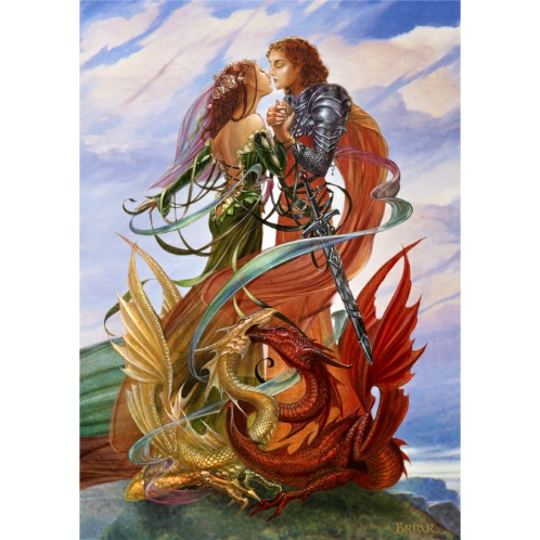 Dragon Handfasting Card