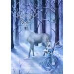 Frozen Fantasy Yule Card