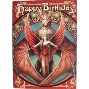 Copperwing Birthday Card