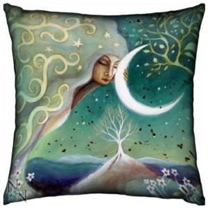 Earth and Moon Cushion