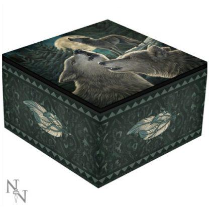 Wolf Song Mirror Box