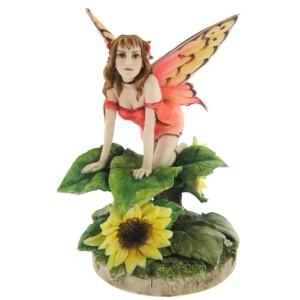 Sunflower Fairy Figure