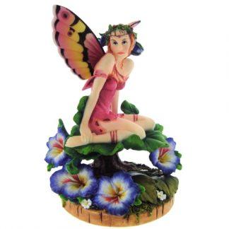 Viola Pansy Fairy Figure