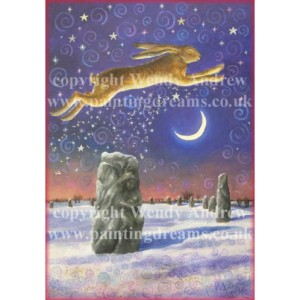 Winter Solstice Magick Card