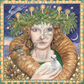 The Winter Solstice Queen Card