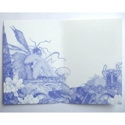 inside of Linda Ravenscroft's card