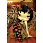 Owlyn in Autumn Card