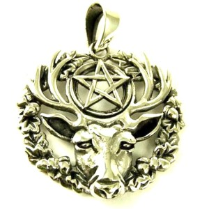 Silver Hart of the Wildwood Pendant