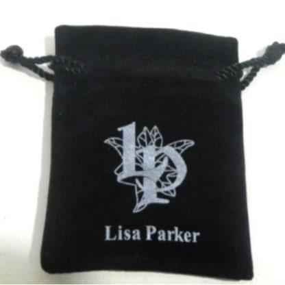 Lisa Parker Black Pouch
