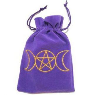 Triple Moon Goddess Tarot Bag